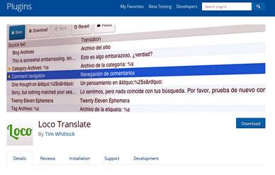1 روش مناسب برای ترجمه فارسی در وب سایت – پلاگین LOCO TRANSLATE